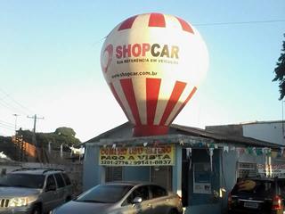 Bal�o do ShopCar pousa na MS Ve�culos