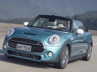 Mini traz ao Brasil novo Cooper S Cabrio