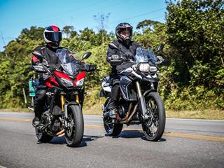Qual a melhor para voc�: Yamaha Tracer ou BMW F 800GS?