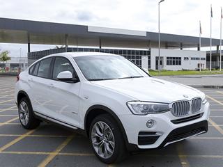BMW come�a a montar X4 no Brasil
