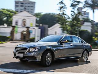Mercedes traz 10ª geração do Classe E