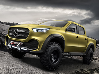 Essa é a Classe X: picape Mercedes-Benz que chega por aqui em 2018 - vídeo