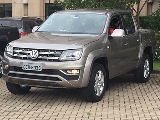 Volkswagen renova picape média Amarok