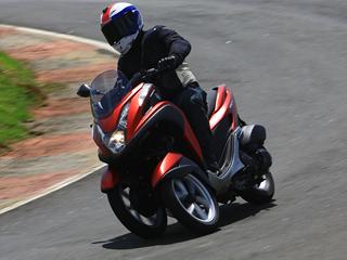 Tricity 125, a evolução dos scooters
