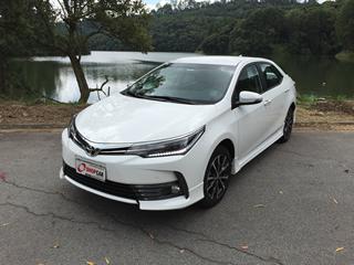 De olho na concorrência, Toyota apresenta mudanças para o Corolla 2018