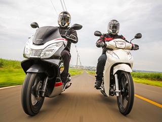Honda Biz 125 ou PCX Sport: qual o melhor para você? - vídeo