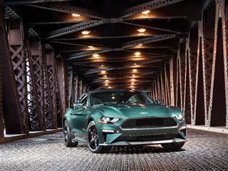 Novo Ford Mustang Bullitt é apresentado no NAIAS 2018