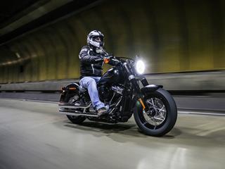 Nova Softail Slim mostra evolução da Harley