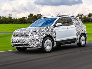 Volkswagen começa a testar o SUV T-Cross no Brasil