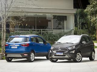 Ford EcoSport chega a 2020 com nova versão Titanium Run Flat