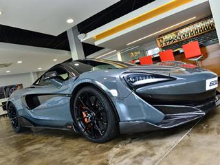 Chega ao Brasil o McLaren 600LT
