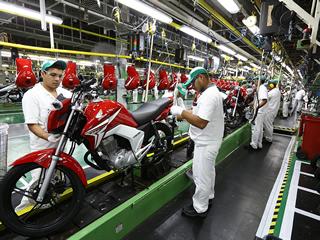 Venda de motos tem melhor maio desde 2015